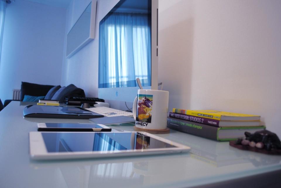David Delhaye | ambiance bureau appartement